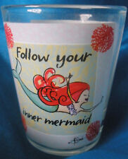 Shot Glass Follow Your Inner Mermaid Small Cup Cape Shore New