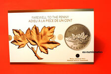 "2012 $20 - Fine Silver ""The Last Penny"" Canada Special Edition Maple"