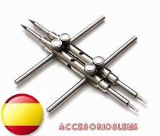 Pinzas reparadoras de lentes y objetivos- Herramienta de alta calidad y ajuste.