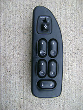 01 - 03 FORD WINDSTAR FRONT DRIVER LEFT SIDE MASTER POWER WINDOW SWITCH BLACK
