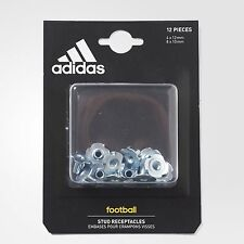 Adidas World Cup Stud Receptacles 12 Pcs Steel Replacement Football Boots A622