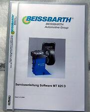 Serviceanleitung-Software Beissbarth Microtec 825/825D