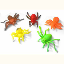 5pc Multicolores Elástico Araña error doble partido Bolsa, estrés Juguetes, Halloween