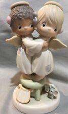 Precious Moments Angels We Have Heard on High #524921 ~1991 Enesco Sam Butcher