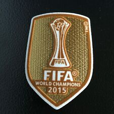 FIFA Club World Cup Champions 2015 patch - FC Barcelona - Messi, Iniesta