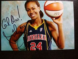 TAMIKA CATCHINGS Hand Signed Autograph 4X6 Photo - OLYMPIC GOLD MEDAL BASKETBALL