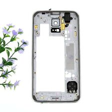 New Middle Housing Frame Repair Parts Plate For Samsung Galaxy S5 G900 White