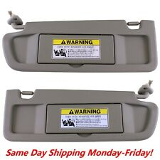 Sun Visor WARM GRAY PAIR For 2006-2011 Honda Civic Visors Left & Right Visor Set