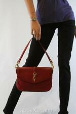 NEW MARC by MARC JACOBS Voyage MERLOT RED Leather Shoulder Bag Clutch $328+