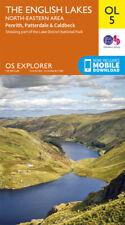OL5 Lake District North Eastern Lakes Ordnance Survey Explorer Map OL 5