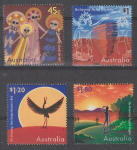 """Australia 1997 #1608-11 Scenes from """"The Dreaming"""" - MNH"""