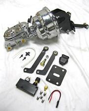 """1962-76 Mopar B & E Body 8"""" Dual Power Brake Booster Conversion Kit + Prop Valve"""