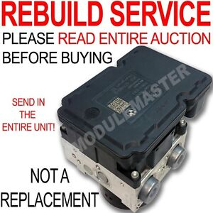 Rebuild Repair for BMW 325i 328i 330i 335i M3 M5 M6 Z4 ATE MK60E ABS Motor