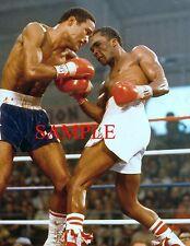 Sugar Ray Leonard vs Wilfredo Benitez Boxing Fight 8x10 Photo
