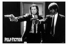 XXL-Poster Riesig PULP FICTION Guns Travolta 140x100cm