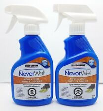 Rust Oleum Never Wet 11 Oz Shoe and Boot Spray Clear Waterproof Silicone Free
