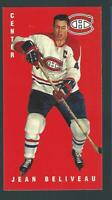 JEAN BELIVEAU PARKHURST CARD MONTREAL CANADIENS retro vintage look