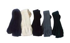 MEN'S SCOTTISH WOOL BLEND KILT HOSE SOCKS WHITE,CREME,BLACK,GREEN,GREY,NAVY BLUE