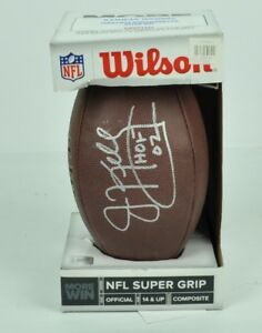 Jim Kelly Buffalo Bills NFL #12 Signed Autograph Official Size Wilson Football