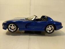 Maisto Blue Dodge Viper RT/10 1:24 Scale Diecast dc2558