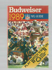 1989 NFL GUIDE BY BUDWEISER