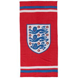 England Slogan Home Bathroom Bath Hands Crest Towel with Football Logo