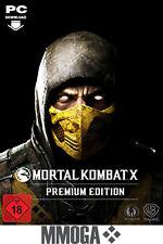 Mortal Kombat X Premium Edition Key PC Steam Digital Download Code EU/Worldwide