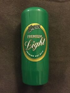 Plastic Hahn Premium Light Beer Tap Handle For DA Style Beer Taps