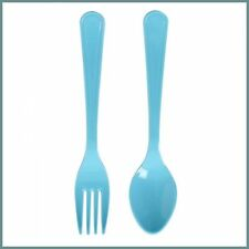 Bombay Duck Kids Spoon and Fork Set Aqua - 6890118A