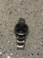 Emporio Armani Men's Luxury Watch AR2477 Renato Blue Dial Silver Band