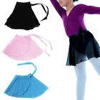 Newly Candy Color Kids Girl Ballet Tutu Dance Skirt Skate Wrap Chiffon Scarf