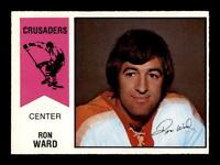 1974-75 O-Pee-Chee WHA #21 Ron Ward EXMT/EXMT+ X1274276