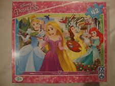 Disney Princesses Jigsaw Puzzle 42 Piece Jigsaw For Ages 3+ Brand New