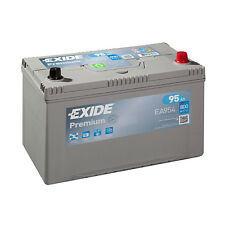 1x Exide Premium 95Ah 800CCA 12v Type 249 Car Battery 4 Year Warranty - EA954
