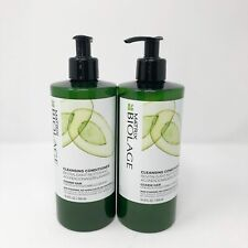 2 Pack Matrix Biolage Cleansing Conditioner for Unisex Coarse Hair 16.9 Oz