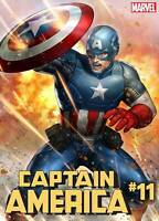CAPTAIN AMERICA #11 YOON LEE MARVEL BATTLE LINES VARIANT MARVEL COMICS