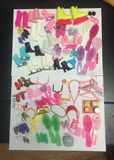 Vintage Barbie Boots, Brushes, Shoes, Happy Meal, Etc. Mixed Lot
