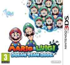 Mario & and Luigi Dream Team  Nintendo 3DS Brand New & Sealed