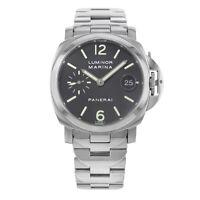 Panerai Luminor Marina Steel  Black Dial Automatic Mens 2004 Watch PAM00050
