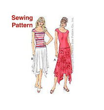 Kwik Sew K3242 Pattern Misses Skirts & Tops XS-XL BN