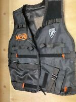Genuine NERF Elite Utility Vest Black Orange Genuine