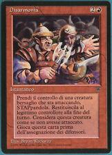 Disharmony Legends (ITALIAN) NM Red Rare MAGIC MTG CARD (ID# 111477) ABUGames