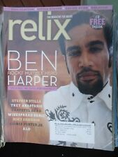 BEN HARPER ERIC CLAPTON LITTLE STEVEN GALACTIC GRATEFUL DEAD RELIX MAGAZINE 2007