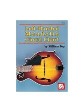 Left-Handed Mandolin Chord Chart Learn to Play MUSIC POSTERS Mandolin