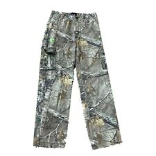 Realtree Youth Camouflage Cargo Pants Size 18 XXL Hunting Outdoor