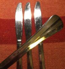 """International Stainless Fan Tip Handle DINNER KNIVES  8-3/4"""" (Set:4)"""
