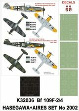 Montex Super Mask 1:32 Bf-109 F-2/F-4 for Hasegawa+Aires Kit #K32036