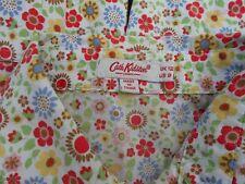 Cath Kidston London Size l2 Very Pretty Retro Floral Shirt Blouse 100% cotton