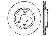 Disc Brake Rotor-C-Tek Standard Brake Rotors Centric fits 01-06 Hyundai Santa Fe