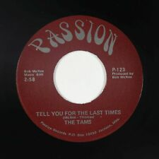 70s Soul 45 - Tams - Tell You For The Last Time - Passion - VG++ misprint titles